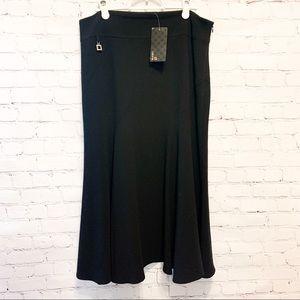 NWT Laura Formal Long Black Skirt